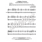 A Mighty Fortress - HB chord descant