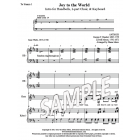 Joy to the World - introductions (HB, 2-part choir, keyboard)