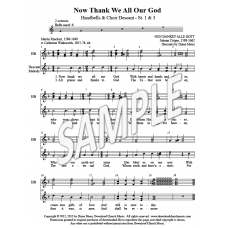 Now Thank We All Our God - HB & choir descant