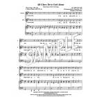 All Glory Be to God Alone - SA Hymn stanza