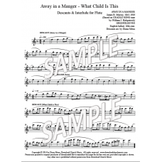 Away in a Manger & What Child Is This - Flute descants