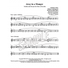 Away in a Manger - Flute or Recorder descant
