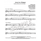 Away in a Manger - Clarinet descant