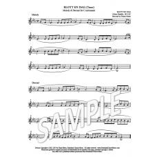 Blott En Dag (Tune) - descant