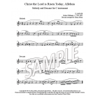 Christ the Lord is Risen Today - C instrument descant
