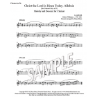 Christ the Lord is Risen Today - Clarinet descant