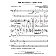 Come, Thou Long-Expected Jesus - Coda
