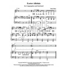 Easter Alleluia (Unison Choir and/or Congregation)