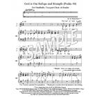 God Is Our Refuge and Strength - Psalm 46 (Handbells, 2-part Choir, Reader)