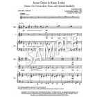Jesus Christ is Risen Today - St. 3 (Choir, HB, piano)