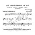 Lord, Keep Us Steadfast - Descant (LSB)