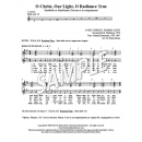 O Christ, Our Light - HB chord descant