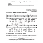 O Christ, Our Light - HB chord descant