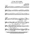 O Come, All Ye Faithful - Trumpet descant