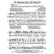 Oh Wondrous Type! Oh, Vision Fair - HB descant (LBW)