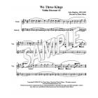 We Three Kings - Violin descants