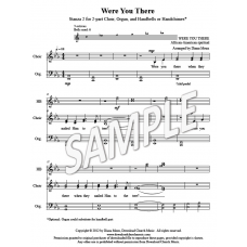 Were You There - St. 2 (2-part choir, HB, organ)